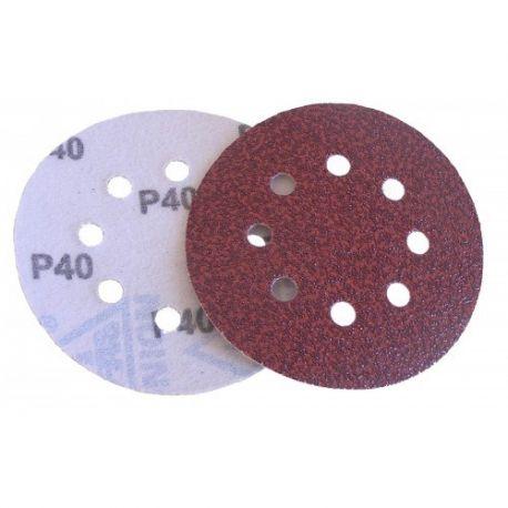 Brúsny papier na suchý zips s otvormi 150mm
