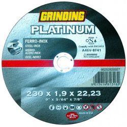 Grinding Platinum rezný kotúč na oceľ a nerez