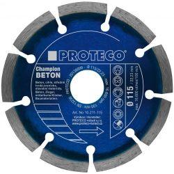 Proteco CHAMPION segmentový diamantový kotúč na betón