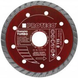 Proteco TURBO CHAMPION celý diamantový kotúč na betón