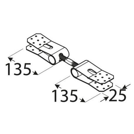 Napínač montážnej pásky NT